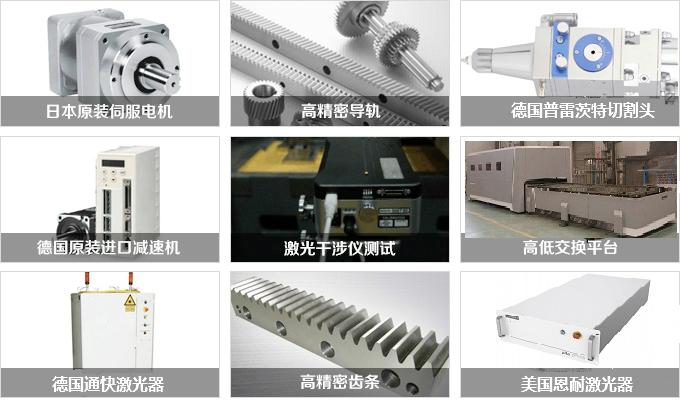 大型封闭式激光切割机配件